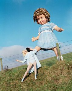 I take great interest in photographers like Tim Walker who like to play with scale and juxtapose something beautiful and familiar with something more unsettling and surreal (an approach I also apply to music).