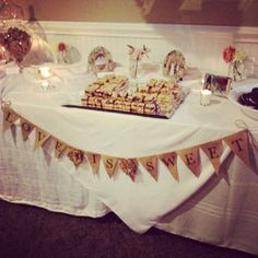 Love is Sweet. Cookie Bar by Kyle Michelle Weddings