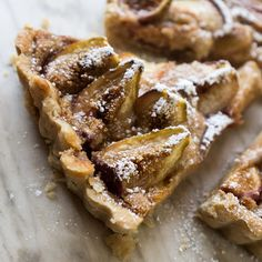 Fig tart with cinnamon ice cream | Recipe | Figs, Tarts and Cinnamon