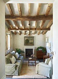 Discover inspired interior design with these photos of a rural French estate design by David Michael Miller Associates in Scottsdale, Arizona. Contact us today to learn more about starting your own home renovation or redesign project. Living Room Decor Country, French Country Living Room, French Cottage, French Interior, French Decor, French Country Decorating, Rustic French, Cottage Shabby Chic, Shabby Chic Stil