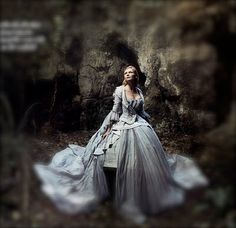 ♥ Romance of the Maiden ♥ couture gowns worthy of a fairytale -  Annie Liebovitz