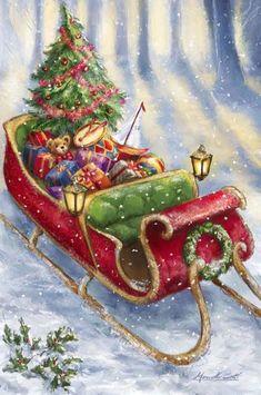 Antiche cartoline di Natale | Le Chiccherie