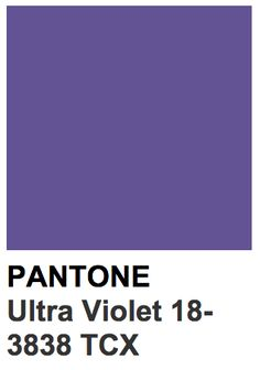 pantone ultra violet color of the 2018