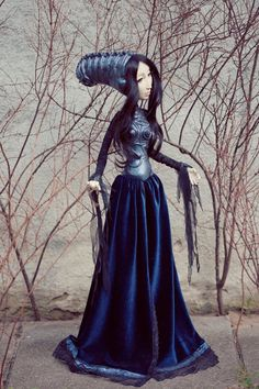 Expressive and unique art doll by Omega Dolls
