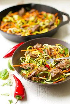 Thai Beef Drunken Zo