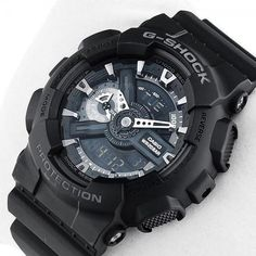 Casio G-Shock Military Stealth Chronographs | GA-110MB-1AER GA-110-1BER