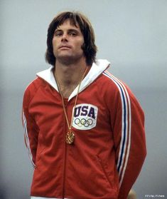 Bruce Jenner, men's decathlon gold medalist at the 1976 Montreal Summer Olympics Kardashian Jenner, Kendall Jenner, Bruce Jenner Olympics, Gq Magazine Covers, Mexico 68, Montreal, Bible Pictures, Face Men, Hollywood Star