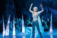 "For its new stage musical ""Frozen,"" Disney should've heeded the sage advice of Queen Elsa: Let it go. Broadway should be the place to see what you can do,. Frozen On Broadway, Frozen Musical, Frozen Film, Frozen Frozen, Frozen Dress, Frozen Heart, Disney S, Disney Frozen, Disney Movies"