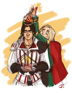 Ezio's birthday.