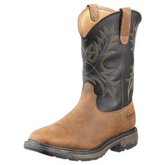 7ecf9d8a32ca Ariat Men s Workhog H2O Square Steel Toe Boots 10010133 Ariat Work Boots