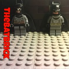 Which Batman should I use in my stop motion? Left or right? - - - - #TheBatBrick #LEGO @LEGO #DCComics @DCComics #Batman @Batman @batman.official #which #one #should #I #use