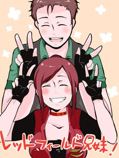 Claire Redfield & Chris Redfield, Resident Evil Way too happy for the franchise and characters, but still cute Game Character, Character Concept, Resident Evil Damnation, Resident Evil Anime, Albert Wesker, Horror Video Games, Gamers Anime, Evil Art, Jill Valentine