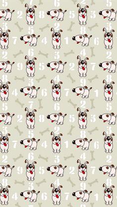 Wallpaper Fofo de Cachorrinhos. #papeldeparede #fundodetela #background #wallpaper #imagem #decoração #telefone #pc #gadgets #tablets #phone #cachorro #cachorrinhos #dog   (tick.tock.apps)