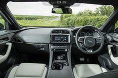New Jaguar F-Pace revealed - pictures | Jaguar F-Pace - interior ...