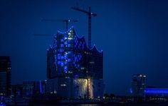 Blue Port - Hamburg im blauen Licht