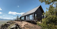 Renee del Gaudio Architecture Big Cabin Little Cabin RDG Colorado AIA American Institute of Architects Architecture Romane, Architecture Baroque, Nature Architecture, Vernacular Architecture, Sustainable Architecture, Cabin Design, House Design, Ideas De Cabina, Green Design