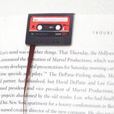 Marcapáginas de cassette