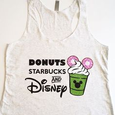 When you put Disney, donuts, & Starbucks together you get something magical! ☕️ #disney #donuts #starbucks