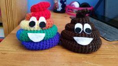 Rainbow Poop Emoji | Craftsy