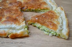 Needs puff pastry courgette pie