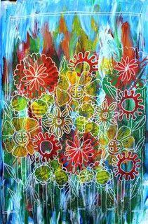 Flower garden by Catherine Parkinson, via Flickr