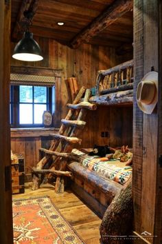 Terry's ultimate kids bedroom...time to get out the chainsaw...