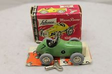 Original Schuco Micro Racer #1041 Wind Up Pressed Tin Toy $12 Shipping