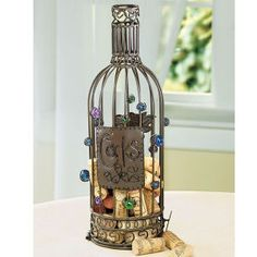 cork collection cage