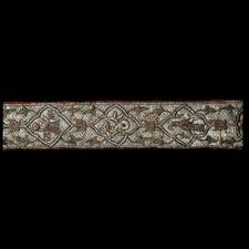 Branko Belt 14th century Byzantine.  Late Byzantine, mid-14th century AD  Probably from Constantinople (modern Istanbul, Turkey) or Thessaloniki, Greece