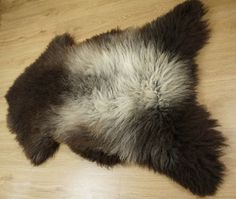 GiantSHEEPSKIN XXL BROWN Throw Genuine leather by TrendingSlippers