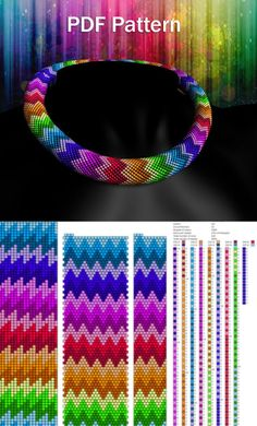 Bead crochet patterns beading patterns ant tutorials seed bead necklace patterns pdf – Welcome Bead Crochet Patterns, Bead Embroidery Patterns, Beading Patterns Free, Bead Crochet Rope, Seed Bead Patterns, Weaving Patterns, Art Patterns, Knitting Patterns, Mosaic Patterns