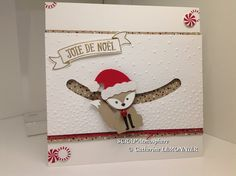 SCRAPATMOSPHERE, les ateliers créatifs de Catherine: Foxy friend spinner card
