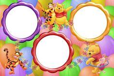 Marcos para Fotos de Winnie The Pooh | Marcos Gratis para Fotografías.