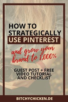 Tired from getting stuck wondering how you can grow your blog or your small creative business through Pinterest? If you're in this failing situation, then this post is BEST for you! Our guest post, Krista Dickson /blogbeautifully/ from Blog Beautifully, shared her effective strategies for you on how you can strategically use Pinterest to grow your brand like a thousand times! Plus, video tutorial on how to setup rich pins an checklist to work on to boost your Pinterest engagement with your…