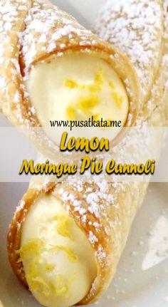 Lemon Meringue Pie – Healthy Recipes - Top Of The World Köstliche Desserts, Lemon Desserts, Lemon Recipes, Sweet Recipes, Delicious Desserts, Yummy Food, Dessert Recipes, Italian Desserts, Italian Recipes