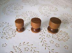 Manopole di legno Italia in alta qualità. legno di noce