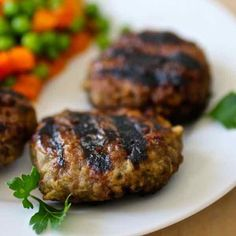Australian rissoles are meat patties that are grilled on the BBQ. Depending on the recipe, these patties can include grated vegetables.
