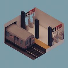 Michiel van den Berg - NYC Subway