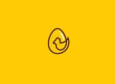 Cadiz [Fresh Eggs & Chicken] on Behance Logo Branding, Branding Design, Logo Design, Logo Inspiration, Egg Logo, Egg Burger, Chicken Logo, Chicken Images, Egg Packaging