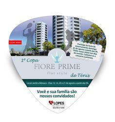 Convite evento Fiore Prime