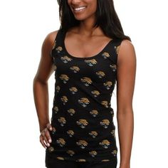 Nike Jacksonville Jaguars Ladies Fashion Football Premium T-Shirt ...