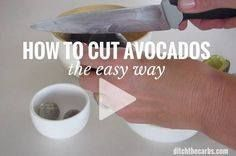 How to cut avocados How to cut avocados - the easy way. This is...  How to cut avocados How to cut avocados - the easy way. This is genius simply the best kitchen trick ever. | ditchthecarbs.com via Ditch The Carbs Recipe : http://ift.tt/1hGiZgA And @ItsNutella  http://ift.tt/2v8iUYW