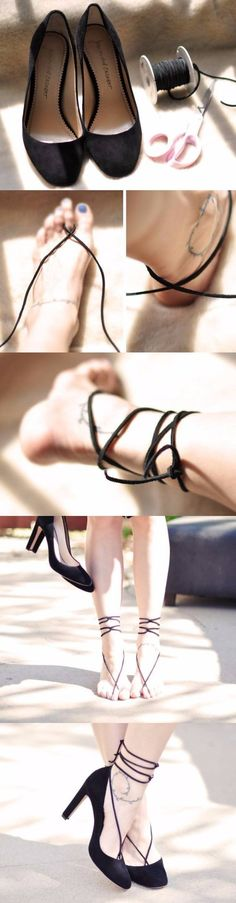 lovemaegan.com - DIY Barefoot Sandal + Shoe Enhancer