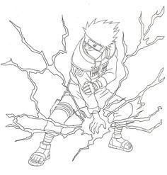 Kakashi Lineart by pureakatsuki on DeviantArt Naruto Kakashi, Naruto Anime, Naruto Art, Kakashi Drawing, Naruto Sketch Drawing, Naruto Drawings, Anime Sketch, Best Anime Drawings, Dark Art Drawings