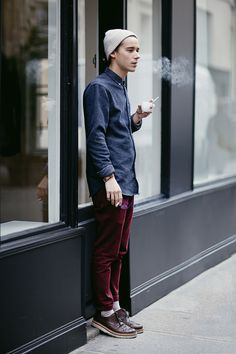 the-streetstyle:  Luca from Parisvia whatstrend