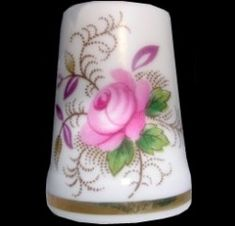 Royal Albert China - Special Collections - Thimbles- Lavender Rose