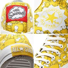 2014 Simpsons Converse.. too cool...