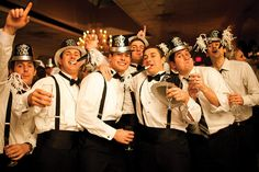 New Years Eve Wedding at the Bernards Inn