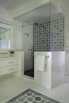 Staggering Shower remodel acrylic,Fiberglass shower remodeling walk in tricks and Shower remodel ideas budget tricks. Transitional Bathroom, Upstairs Bathrooms, Small Bathroom, Master Bathroom, Bathroom Ideas, Master Shower, Bathroom Showers, Bathroom Closet, Modern Bathrooms
