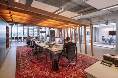 DZAP has developed the new office space of tv ad company BrandDeli located in Amsterdam, Netherlands.